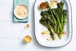Broccolini BBQ Cajun