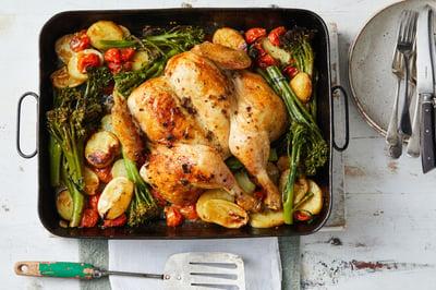 Recipe_LR_Broccolini_Greek Style Chicken Roast_Janelle Bloom_2020_01