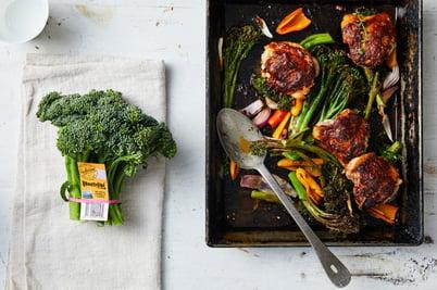Recipe_LR_Broccolini_Spanish Style Chicken and Broccolini Bake_Janelle Bloom_2020_02