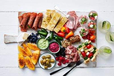 Qukes Summer Snacking Platter
