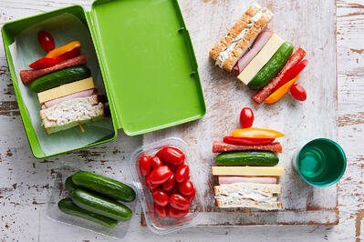 Lunchbox Recipe - Solanato and Qukes Lunchbox Skewers