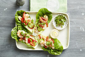 Recipe_LR_Sweet Solanato_Tomatoes_Sweet Gems Baby Cos_Qukes Cucumbers_Lettuce Cups with Saffron Mayonnaise_Janelle Bloom_2016_01