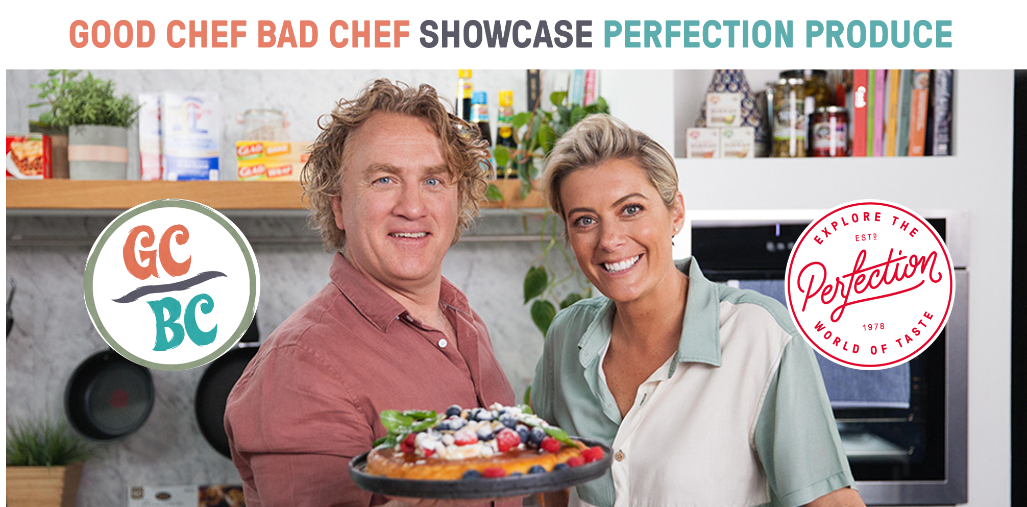 GOOD CHEF BAD CHEF SHOWCASE PERFECTION PRODUCE