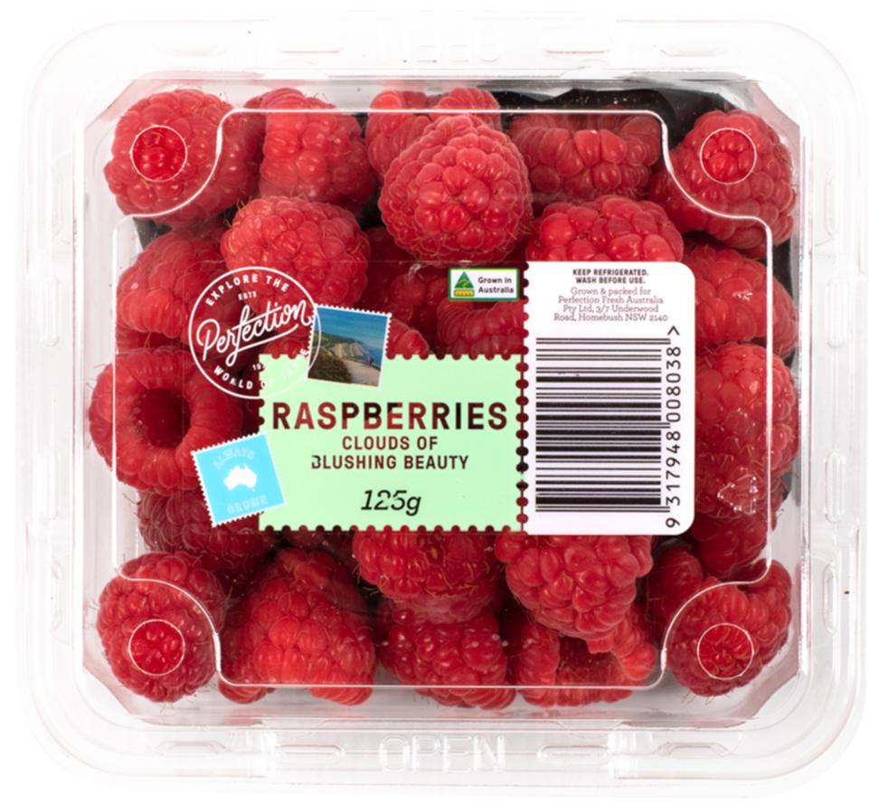 Perfection Raspberries 125g punnet
