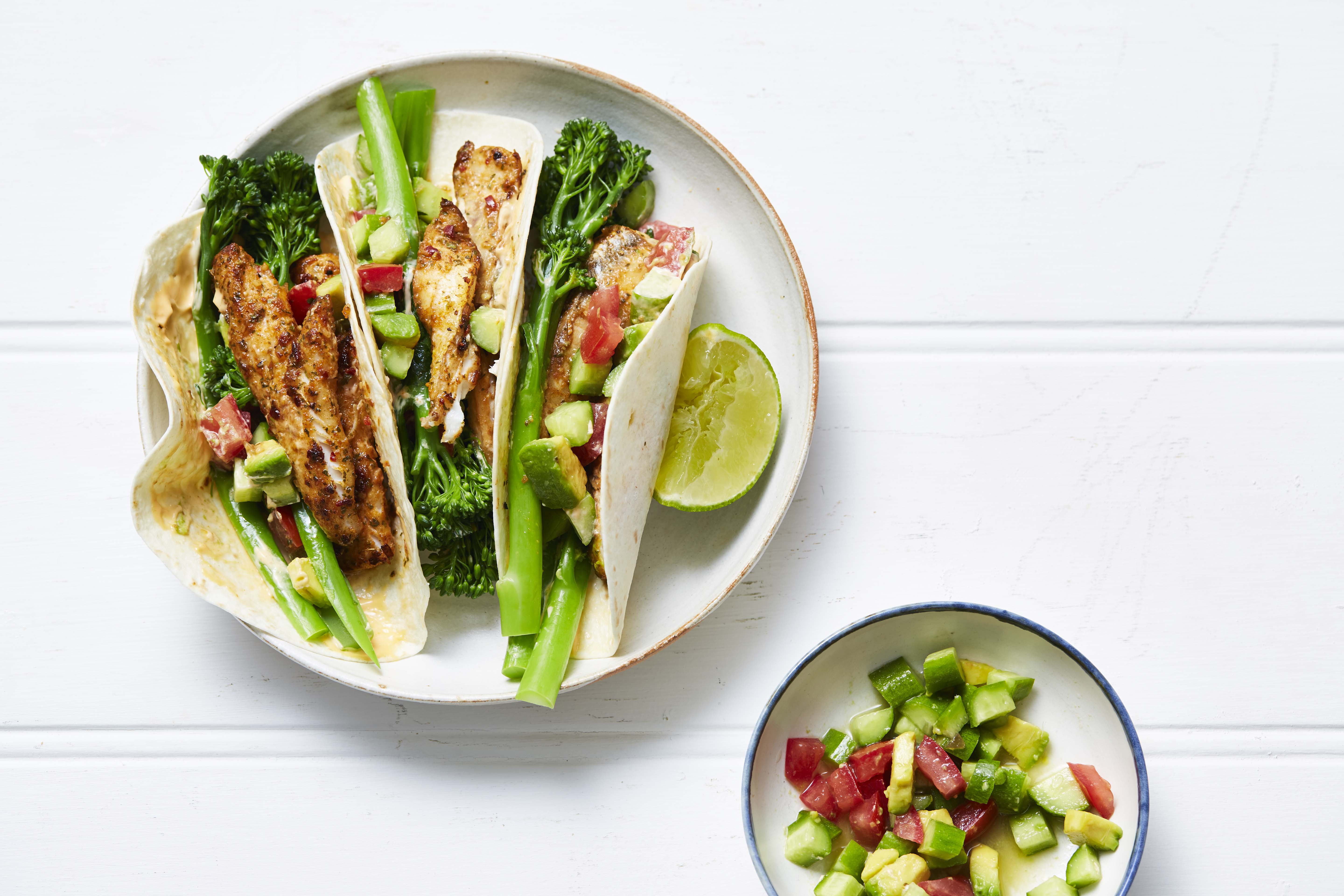 Recipe_LR_Broccolini_Spiced Fish Tacos_Janelle Bloom_2017_1-1