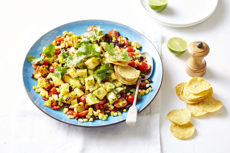 Calypso Mango Sweet Solanato Tomatoes Spicy Mexican Salad