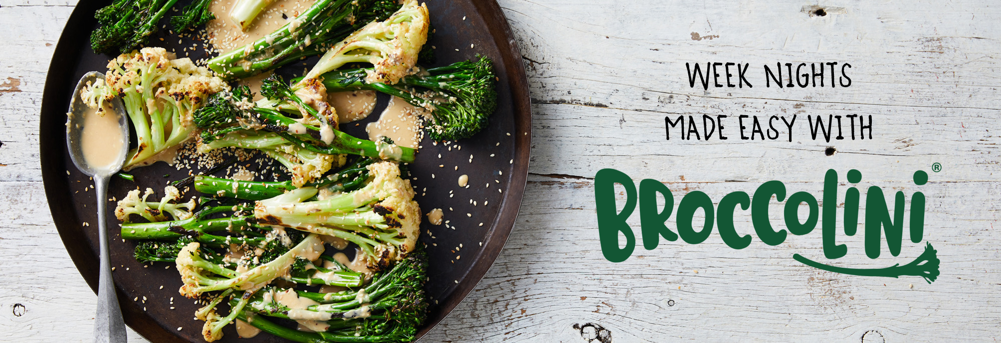 Weeknight dinners made easy with broccolini
